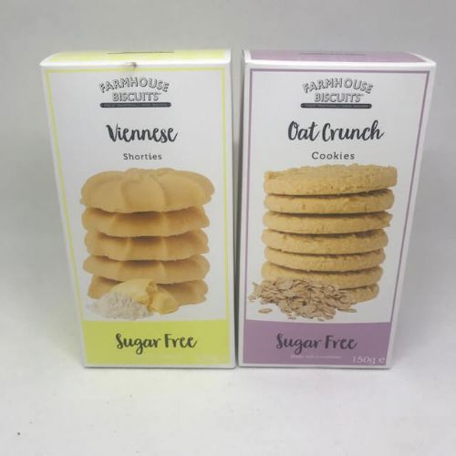 Farmhouse 150g Sugar Free Biscuits